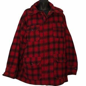 Vintage Woolrich Woolen Mills Mackinaw Jacket Coat